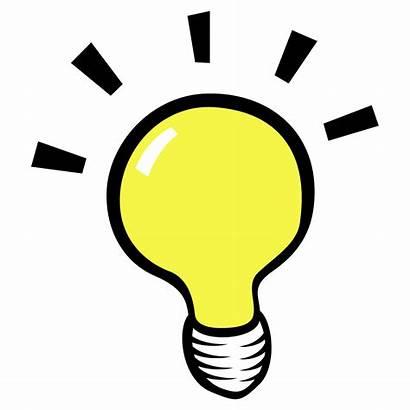Clipart Bulb Idea Awesome Clip Transparent Vector