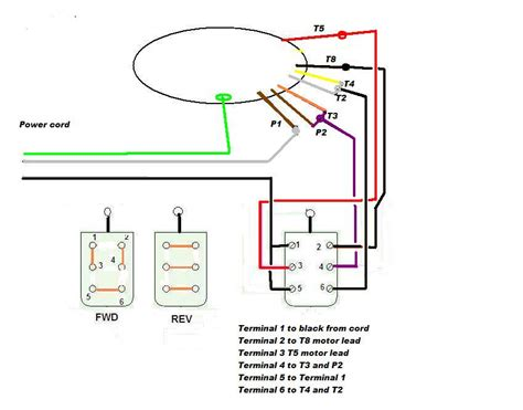 115 volt motor reversing switch wiring diagram 115 free