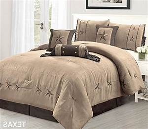 7, Piece, Taupe, Brown, Gold, Bedding