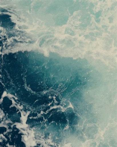 Ocean Water Sea Animation Gifs Teal Bodies