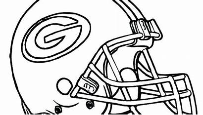 Coloring Football Pages Helmet Nfl Chiefs Kansas