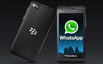 whatsapp se actualiza para el blackberry z10 y llega al q10 zonamovilidad es