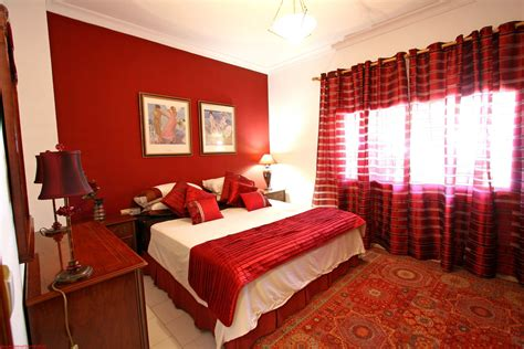 Red Bedrooms : Bright Red Bedroom Curtains Hair Dye Ideas