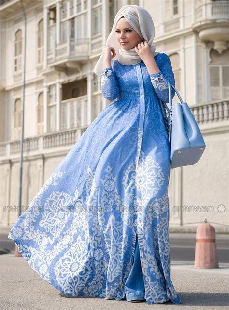 blue pearl dresses blue muslima wear muslimah
