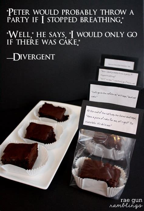 Chocolate Cake Divergent Quotes