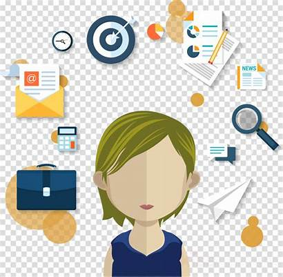 Manager Clipart Account Icon Marketing Management Clip