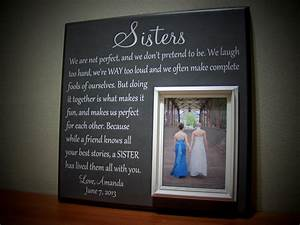 picture frame gift for sisters wedding thank by With good wedding gifts for sister