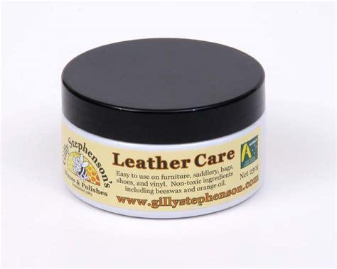 gardensonline leather care gilly stephensons