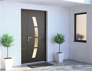 sybaie signe une nouvelle gamme de portes d39entree alu et With millet porte d entrée