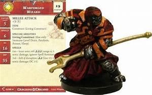 Warforged Wizard #11 Deathknell D&D Miniatures ...