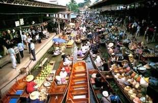 Floating Market Bangkok