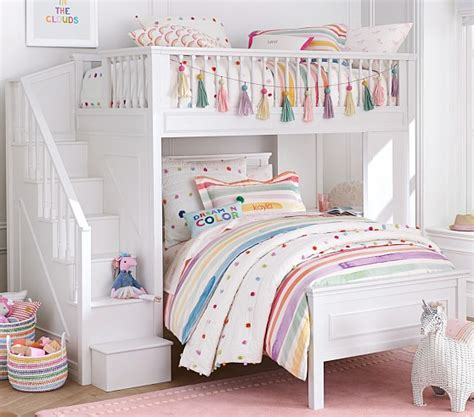 fillmore stair loft bed pottery barn