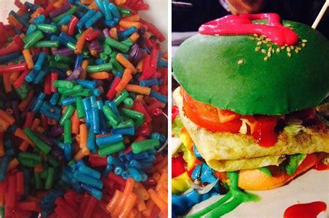 reasons rainbow food    fucking stopped