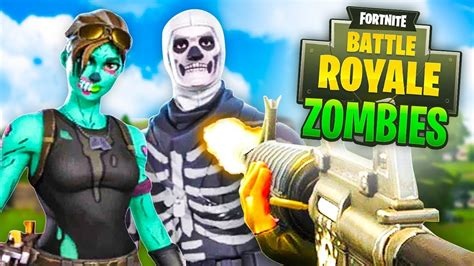 zombies custom game  fortnite battle royale youtube