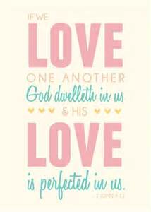 Free Printable LDS Love One Another