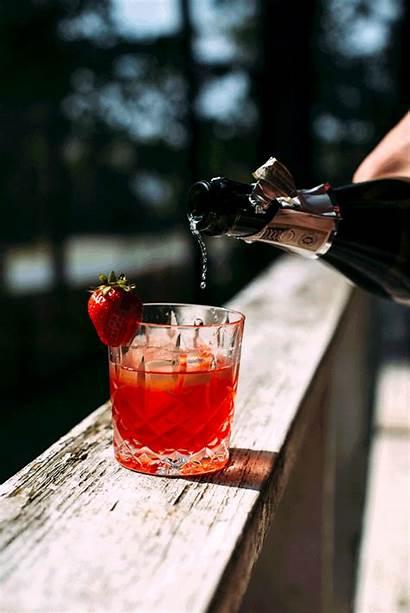 Negroni Pink Strawberry Basil Peppercorn Recipe