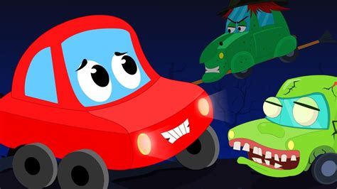 red car rhymes  halloween night scary song