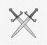 Sword Drawing Coloring Weapon Espada Weapons Colorear Dibujo Roblox Swords Espadas Transparent Transparency Rome Clipart Roman Transparente Crossed Desenho Libro sketch template