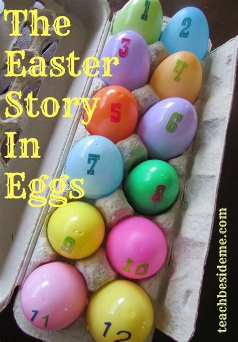 the easter story in eggs or resurrection eggs easter 552   4ba056534eda3a066f25bea8fecec648