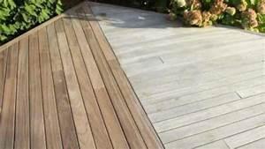 entretien nettoyage d39une terrasse en bois youtube With decaper une terrasse en bois