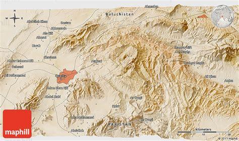 satellite  map  quetta