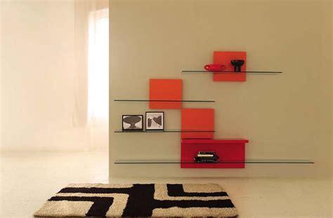 Etagere Murale En Verre Design  Idées De Décoration