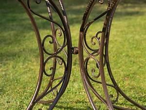 Gartentisch Eisen Nostalgie : nostalgie tisch gartentisch bistrotisch eisen 13kg antik stil 100cm braun aubaho ~ Eleganceandgraceweddings.com Haus und Dekorationen