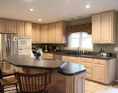Pickled Oak Cabinets Updated by Oak Cabinets Cabinets And Houzz On