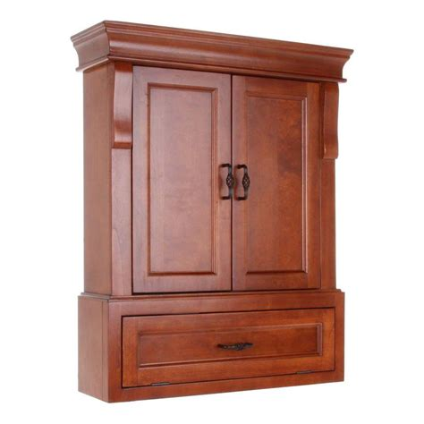 Bathroom Wall Cupboards by Foremost Naples 26 3 4 In W Bathroom Storage Wall Cabinet