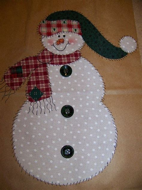 Magicforest Tree Sewing Set applique patterns snowman and tree pdf