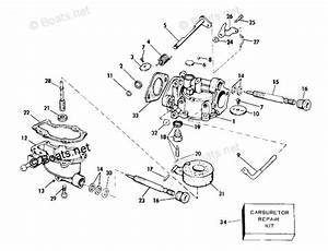 Evinrude Outboard Parts By Hp 4hp Oem Parts Diagram For