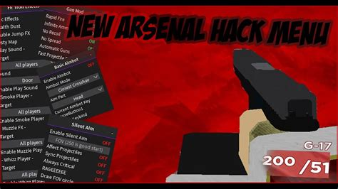 roblox arsenal hack script pastebin aimbot