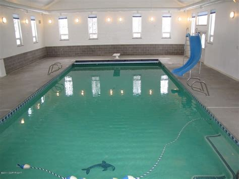 Nearly 7000 Sf Home With An Indoor Pool In Alaska? Really