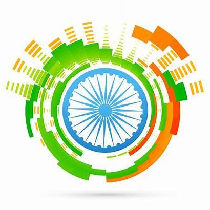 Flag Indian Creative Vector Clipart Vectors