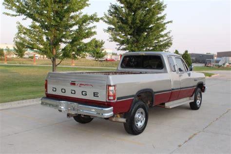 service manual old car manuals online 1992 dodge 1992 dodge ram 2500 w 250 cummins turbo diesel 5 speed manual 4x4 152 000 miles classic 1992
