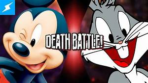 Image - Mickey Mouse vs Bugs Bunny.png | DEATH BATTLE Wiki ...