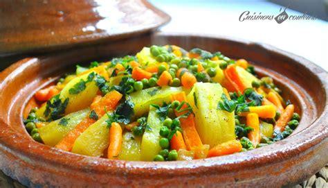 cuisiner avec un tajine en terre cuite tajine de carottes petits pois et pommes de terre