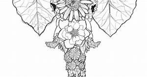 Thai Elephant Design Elephant Flowers Tattoos Pinterest Flower