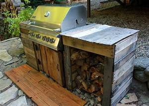 Visibly, Moved, Patio, And, Diy, Grill