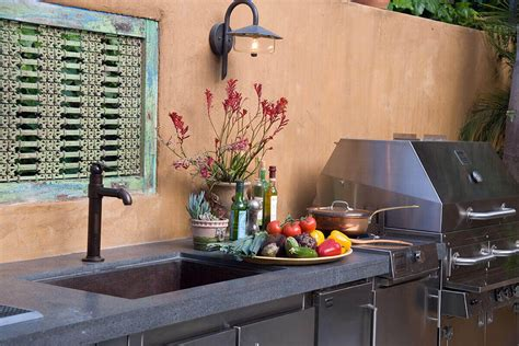 sink for outdoor kitchen sp 252 ltisch f 252 r den au 223 enbereich kreative ideen und 5279