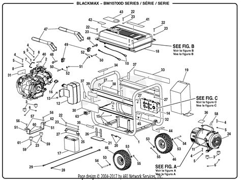 Homelite Bmd Generator Parts Diagram For General Assembly