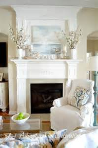 adventures in decorating summer mantel my style