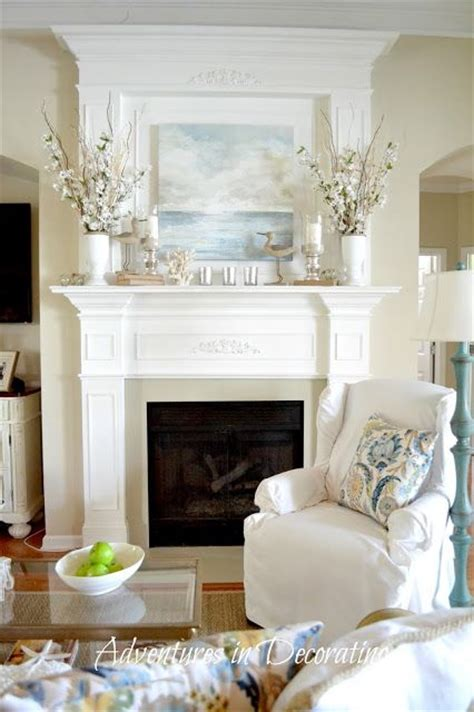 adventures in decorating curtains 17 best images about mantle ideas on mantels