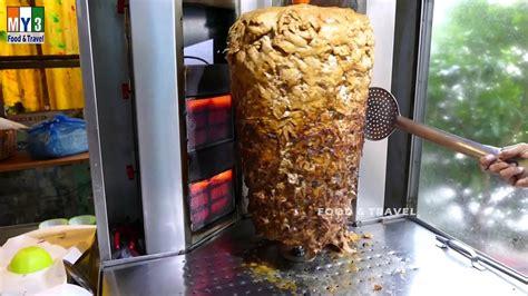 chicken shawarma chicken shawurma  ultra hd video