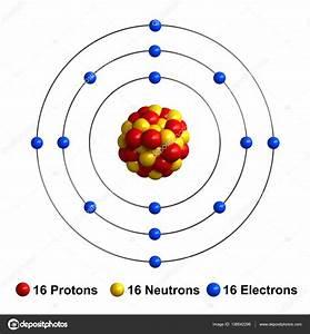 34 Bohr Diagram Of Sulfur