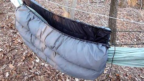 hammock gear underquilt diy gear underquilt