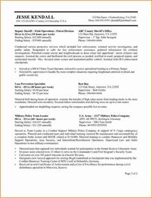 federal resume sles and ksa federal government resume student resume template
