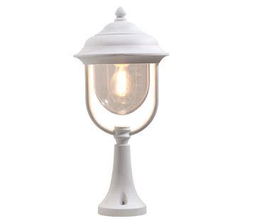 konstsmide parma 1 light upward outdoor wall light white