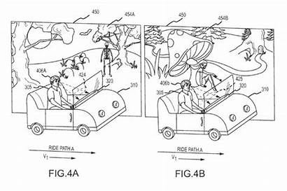 Disney Patent Ride Rides Emotions Disneyland Park