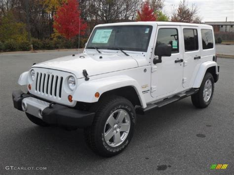 cute white jeep bright white 2012 jeep wrangler unlimited sahara 4x4